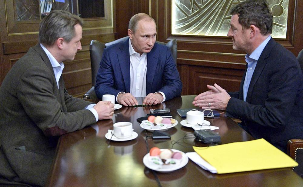 Коротко о том, что сказал Путин в интервью Bild