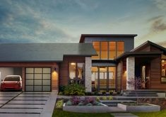 Илон Маск представил систему запаса солнечной энергии для дома