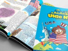 Новый бизнес и детский журнал Ukie Kids